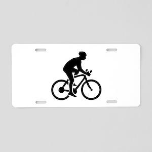 Mountainbike cycling Aluminum License Plate