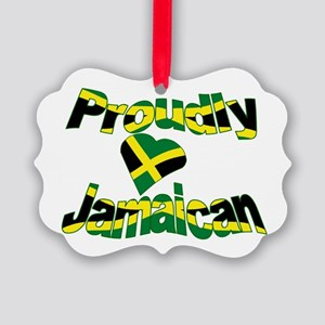 Proudly Jamaican Picture Ornament