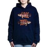 Ornate ctenopoma Women's Hooded Sweatshirt