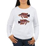 Ornate ctenopoma Long Sleeve T-Shirt