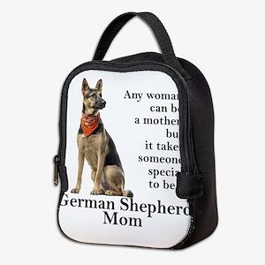 German Shepherd Mom Neoprene Lunch Bag