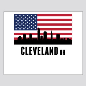 Cleveland OH American Flag Posters