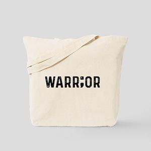 Warrior Semicolon Tote Bag