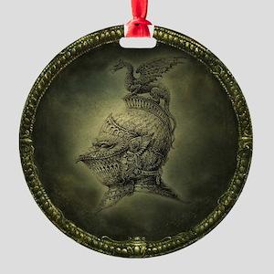 Knight Fantasy Round Ornament