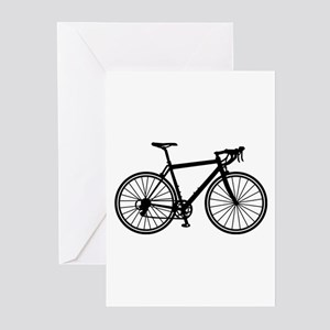 Racing bicycle Greeting Cards (Pk of 20)