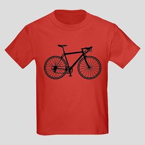 Racing bicycle Kids Dark T-Shirt