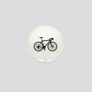 Racing bicycle Mini Button