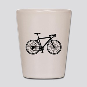 Racing bicycle Shot Glass