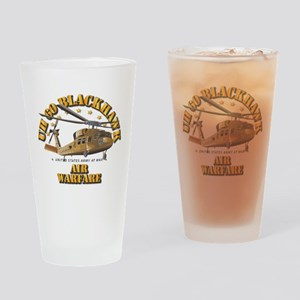 UH - 60 Blackhawk - Air Warfare Drinking Glass