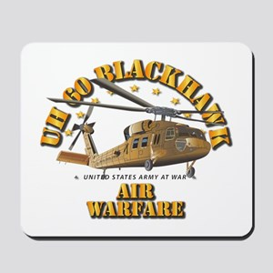 UH - 60 Blackhawk - Air Warfare Mousepad