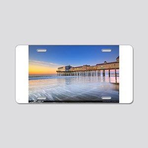 Old Orchard Beach Aluminum License Plate