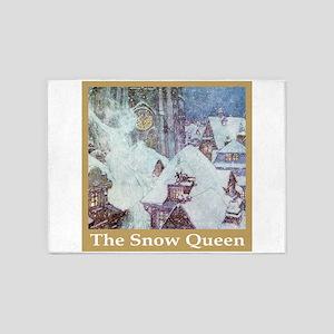 The Snow Queen 5'x7'Area Rug