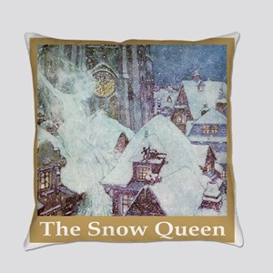 The Snow Queen Everyday Pillow
