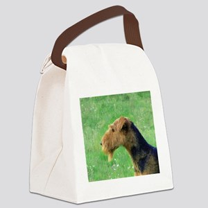 airedale terrier Canvas Lunch Bag
