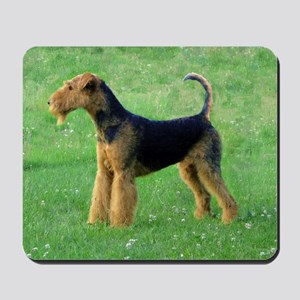 airedale terrier full Mousepad