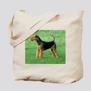 airedale terrier full Tote Bag