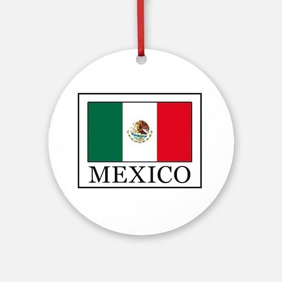 Mexico Round Ornament