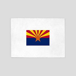 Flag of Arizona 5'x7'Area Rug