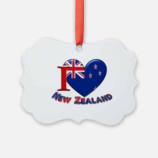 I love New Zealand Ornament