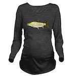 Giant Tigerfish Long Sleeve Maternity T-Shirt