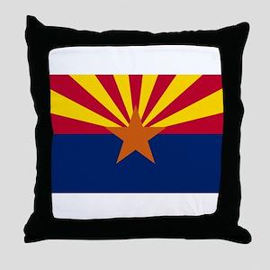 Flag of Arizona Throw Pillow