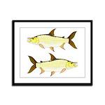 Giant Tigerfish Framed Panel Print