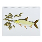 Freshwater Fishes Of Africa I Wall Calendar