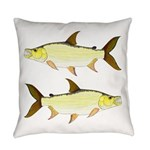 Giant Tigerfish Everyday Pillow