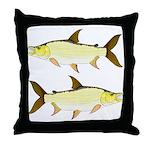 Giant Tigerfish Throw Pillow