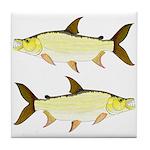 Giant Tigerfish Tile Coaster
