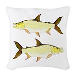 Giant Tigerfish Woven Throw Pillow