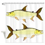 Giant Tigerfish Shower Curtain