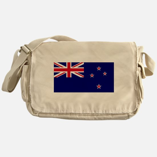 New Zealand flag Messenger Bag