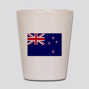 New Zealand flag Shot Glass