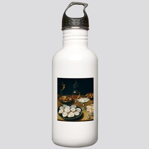 Dishes With Oysters, O Stainless Water Bottle 1.0L