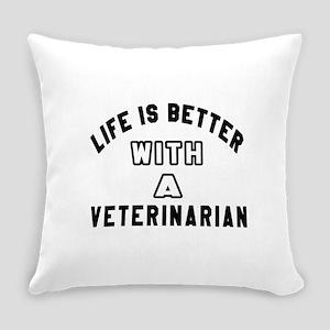 Veterinarian Designs Everyday Pillow