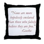Enslaved Freedom Throw Pillow