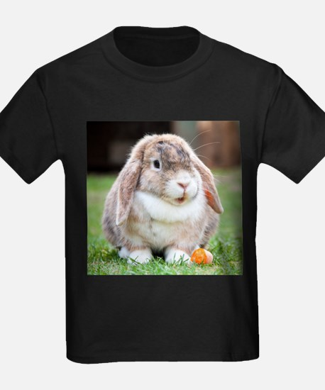 Long Eared Bunny and Carrot T-Shirt