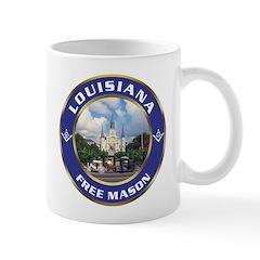 Louisiana Freemason Mug
