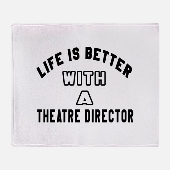 Theatre director Designs Throw Blanket