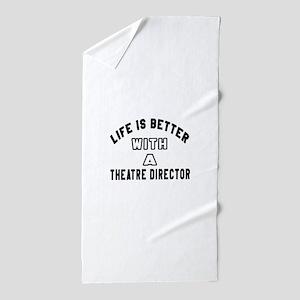 Theatre director Designs Beach Towel