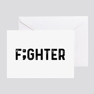 F;ghter Greeting Card