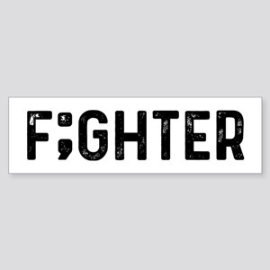 F;ghter Sticker (Bumper)