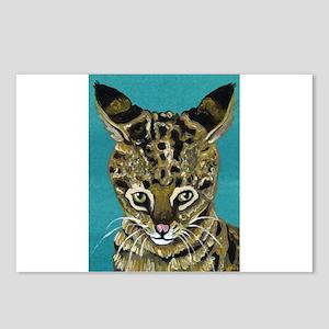 Savannah Cat Postcards (Package of 8)