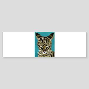 Savannah Cat Bumper Sticker