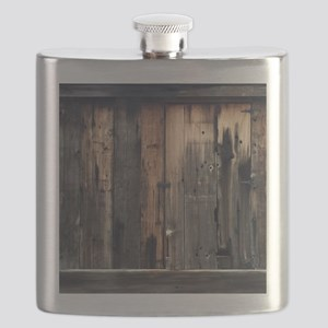 Tate Barn Wood 1 by Leslie Harlow Flask