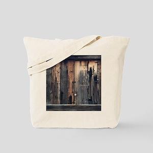 Tate Barn Wood 1 by Leslie Harlow Tote Bag