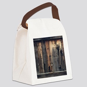 Tate Barn Wood 1 by Leslie Harlow Canvas Lunch Bag