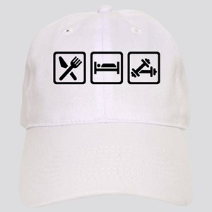 Eat Sleep Bodybuilding Cap