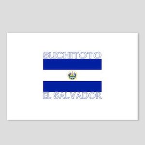 Suchitoto, El Salvador Postcards (Package of 8)